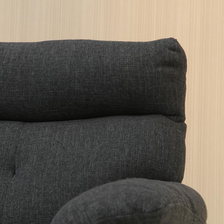 シャルロ ダークグレー 3Pソファ