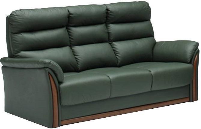 ラグレー グリーン 3Pソファ
