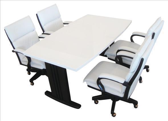 ノア (WH/BR) 150 ダイニングテーブル