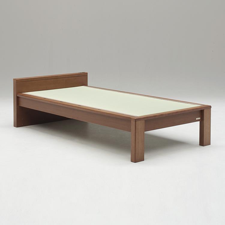 スミカ 畳ベッド フラットタイプ シングル BR