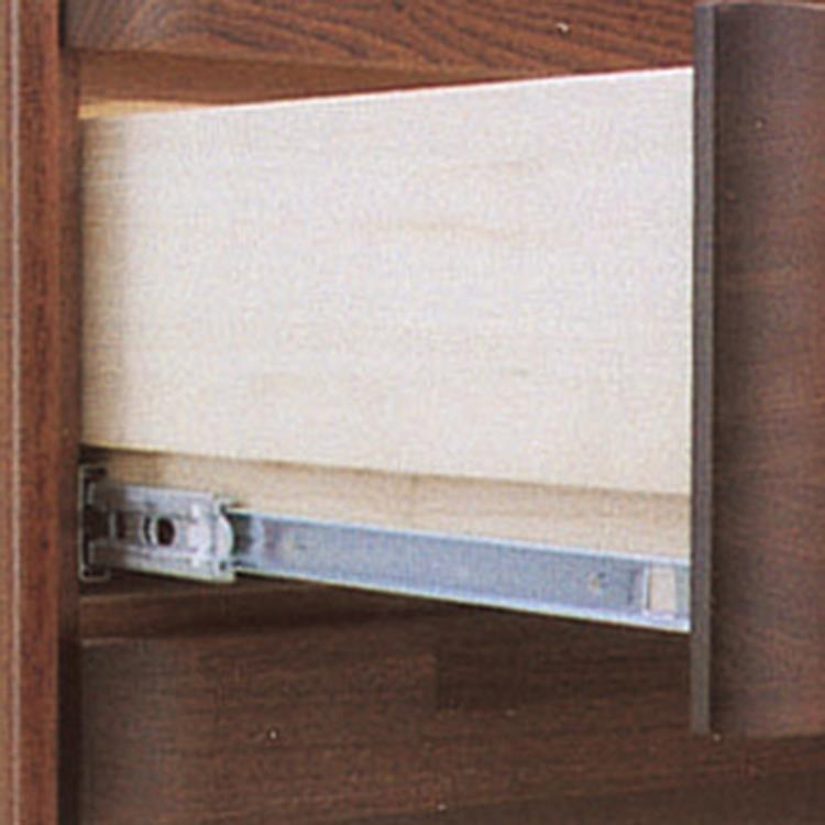 スカーレット チェスト 150cm幅/5段 DBR