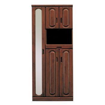 リーズン シューズボックス 75cm幅 ハイタイプ DBR