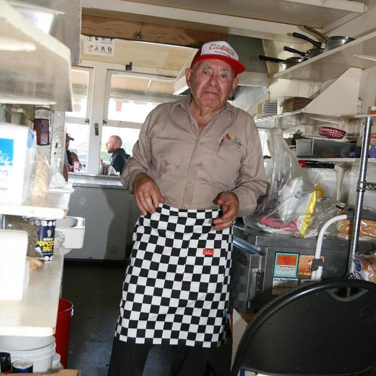 Cookman ウエストエプロン チェッカー(ブラック) Fサイズ