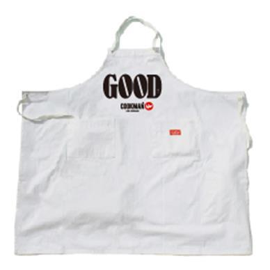 Cookman ロングエプロン GOOD(ホワイト) Fサイズ