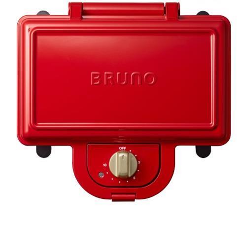 BOE044-RD  BRUNO ホットサンドメーカーダブル RD