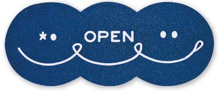 PVCエントランスマット ロング オープンBL