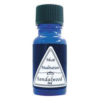 (138)003-05-008  ブルーラベルAオイル サンダルウッド 容量8ml BL