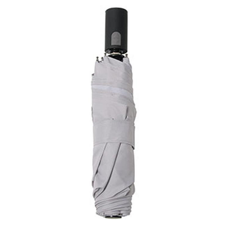 SMV-40272 自動開閉折りたたみ傘 EASYONE ライトグレー