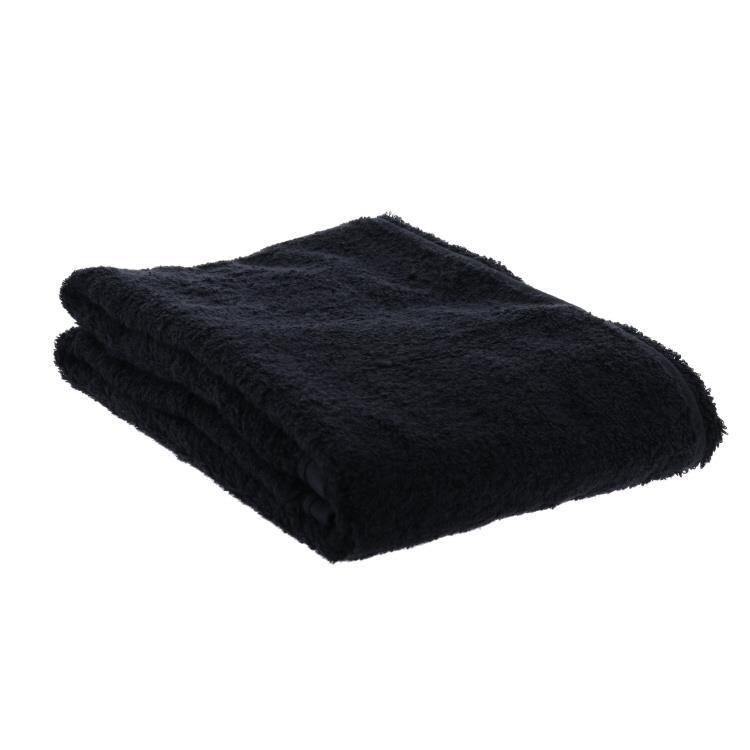 PERE(ペール) バスタオル BK ブラック 63×130cm