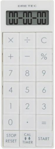CL-116  電卓付き長時間タイマー 11 WH