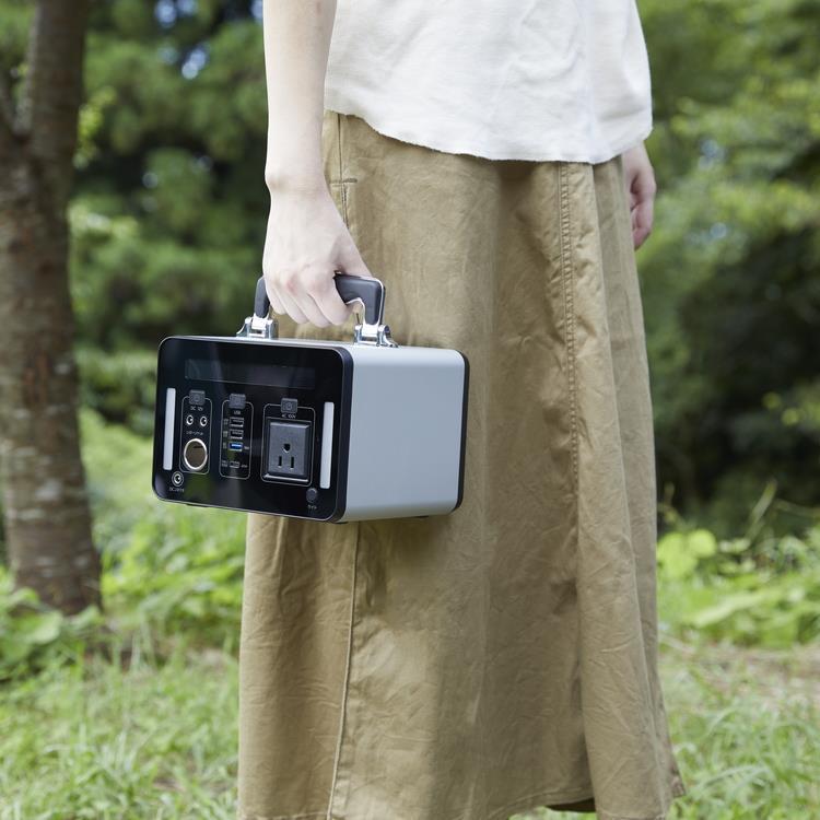 【WEB限定】SKJ-MT300SB エスケイジャパン ポータブル電源 300