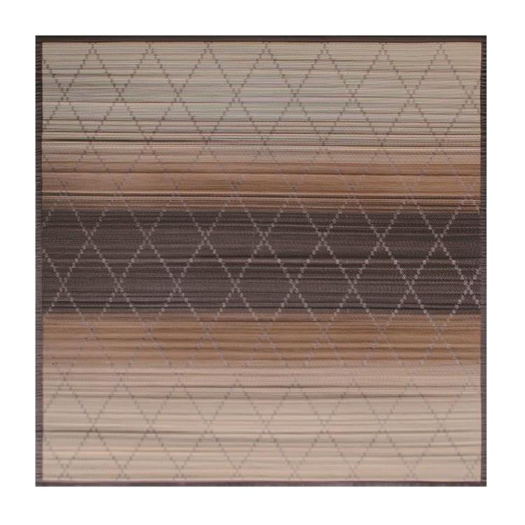 竹ラグ 安曇 BE 190×190