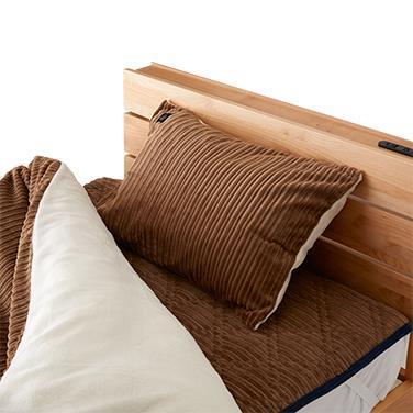 リスカル 枕カバー  BR  43x63