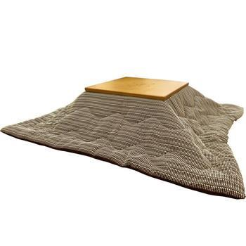 こたつ薄掛布団 ラダー 正方形 185cm×185cm BR