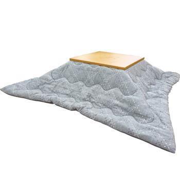 こたつ薄掛布団 メトロ 正方形 185cm×185cm GY