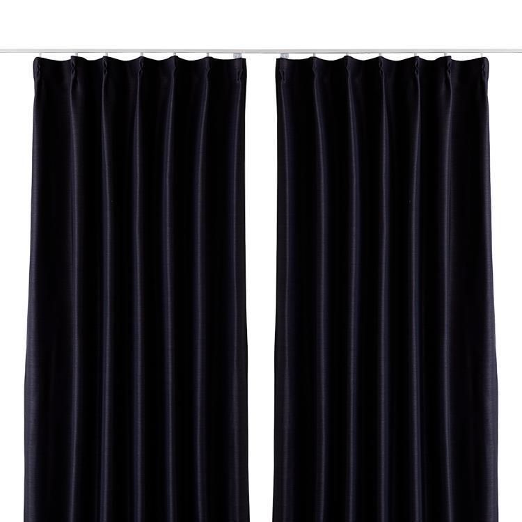 エコプレーン2カーテン2枚組 100X178cm BK