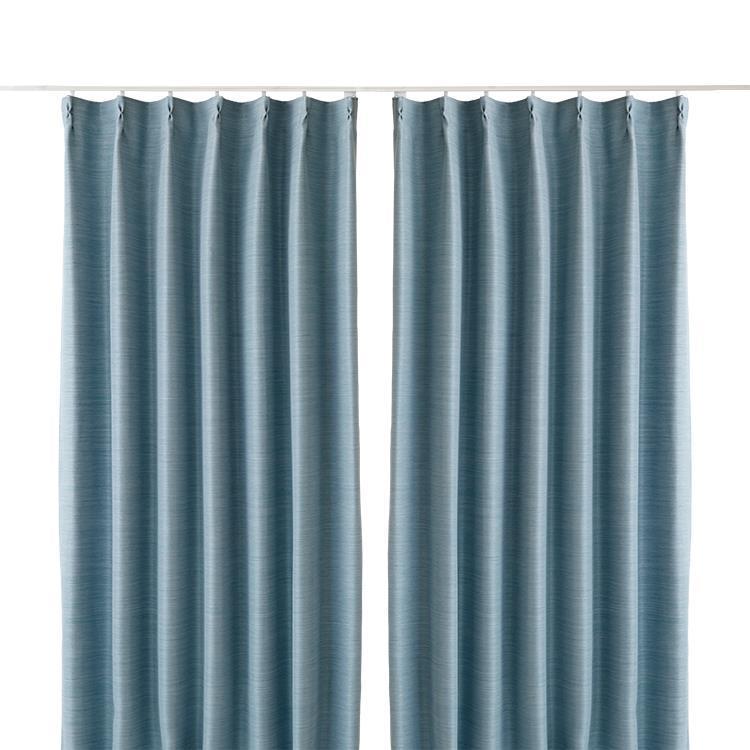 エコプレーン2カーテン2枚組 100X135cm BL