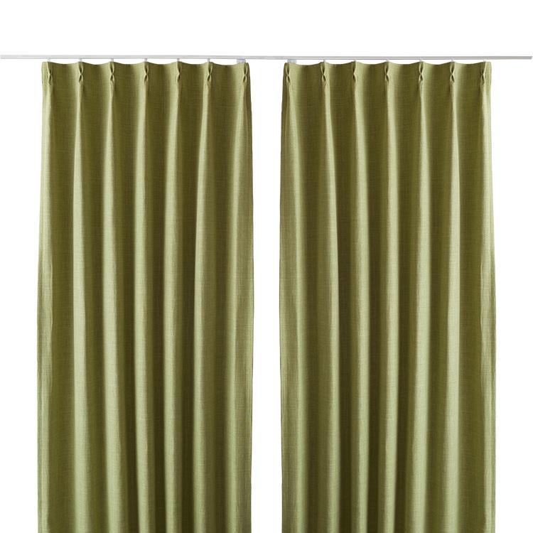 ジェードカーテン2枚組 100X178cm GN