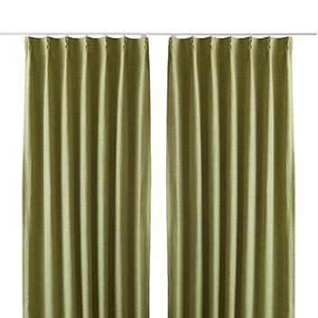 ジェードカーテン2枚組 100X200cm GN