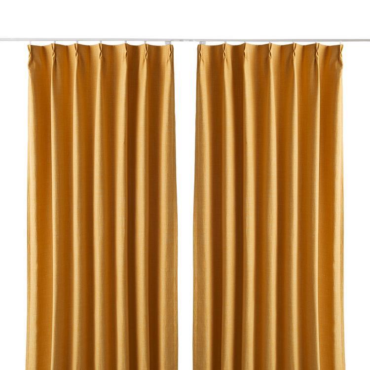 ジェードカーテン2枚組 100X135cm YE