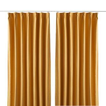 ジェードカーテン2枚組 100X200cm YE