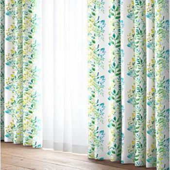 アンディ 遮光ドレープカーテン 2枚入り 100cm×135cm GR