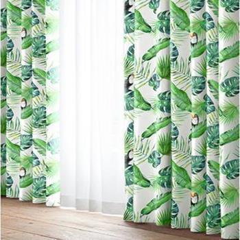 アムス 遮光ドレープカーテン 2枚入り 100cm×135cm GR