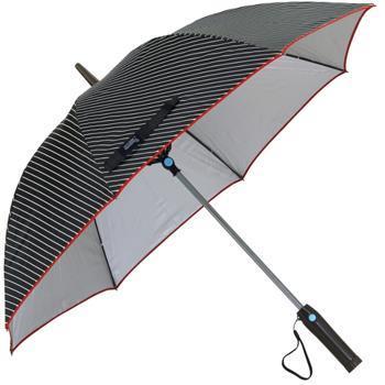 HHLG9110 ファンファンパラソル 扇風機付き日傘 レジメンタル