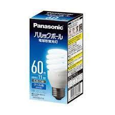 EFD15ED11E Panasonic スパイラル型 60W 昼光色 口金:E26
