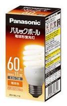 EFD15EL11E Panasonic スパイラル型 60W 電球色 口金:E26