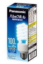 EFD25ED20E Panasonic スパイラル型 100W 昼光色 口金:E26