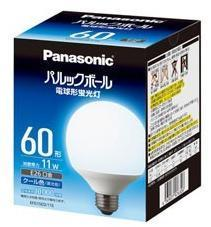 EFG15ED11E Panasonic ボール球 60W 昼光色 口金:E26