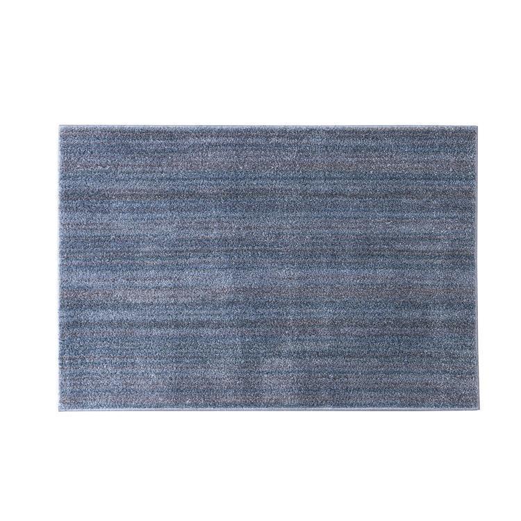 リュストル アイスブルー 100x140