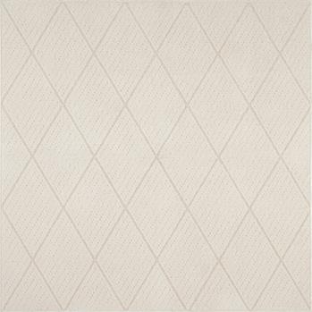 ツイルラグ ホワイト  190x190