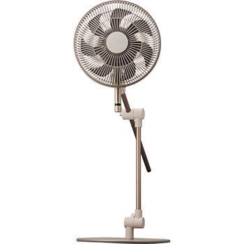 【WEB限定】FKLU-232D ドウシシャ kamome fan 30cm ダークベージュ