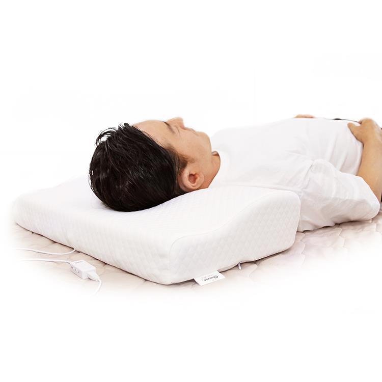 HCSS-01H  いびき軽減低反発枕 シュべ スマートセンス WH
