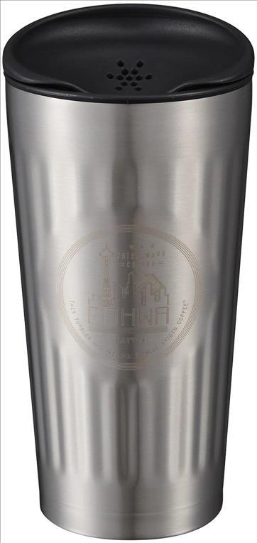 カフアコーヒータンブラー シアトルシルバー 155 SI