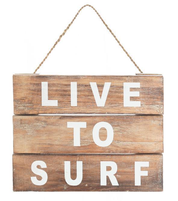 ウッドボード LIVE TO SURF