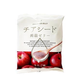 チアシード蒟蒻ゼリー りんご