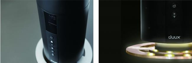 DXHU04   タワー型超音波加湿器  ブラック