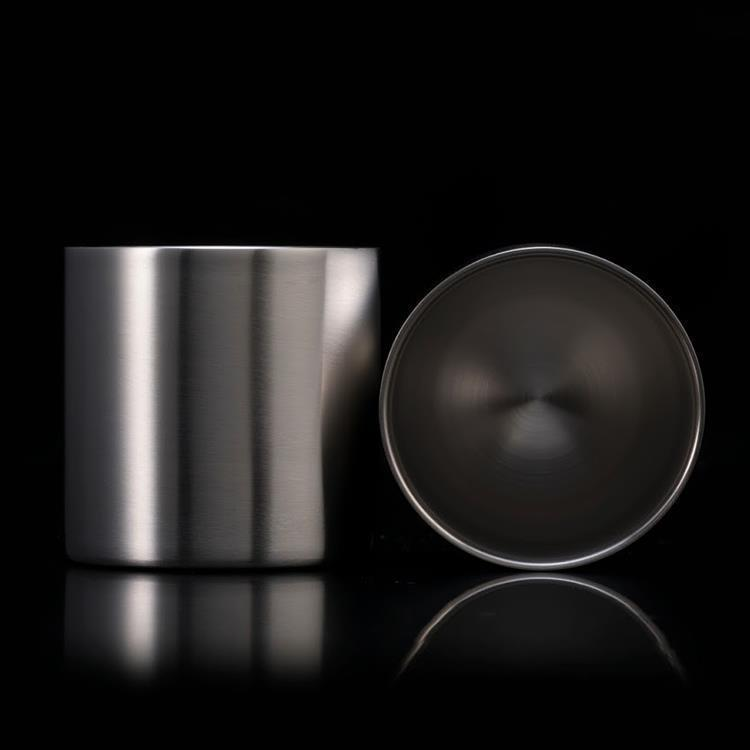 【WEB限定】78mm ダブルステンレスタンブラーグラス ノーマル2個入り