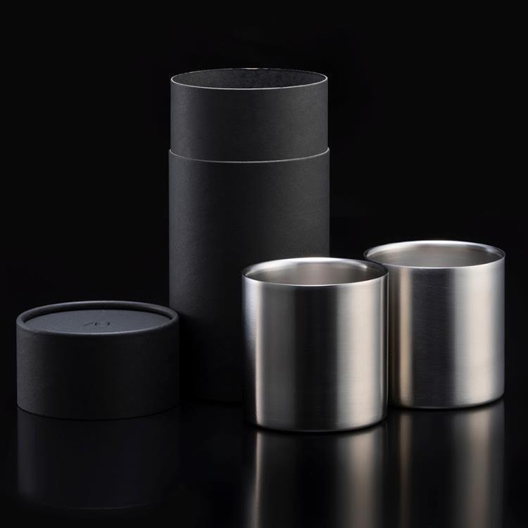 【WEB限定】78mm ダブルステンレスタンブラーグラス プレミアム2個入り