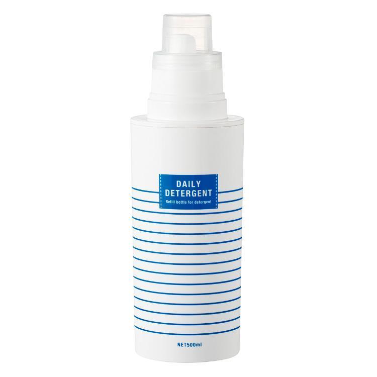 16-454282  ランドリーボトル ボーダー 洗剤  NV