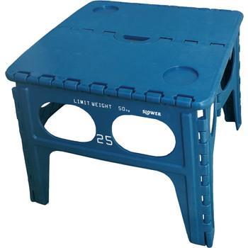 Chapel FOLDING TABLE   BLUE