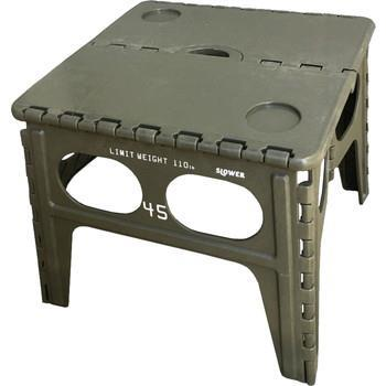 Chapel FOLDING TABLE   OLIVE