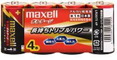 LR20(T)4P maxell ボルテージ アルカリ 単1-4P 0
