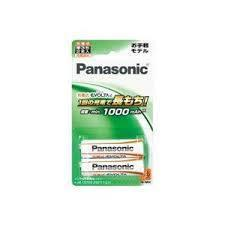 BK3LLB2B Panasonic エボルタe充電池 単3×2 50