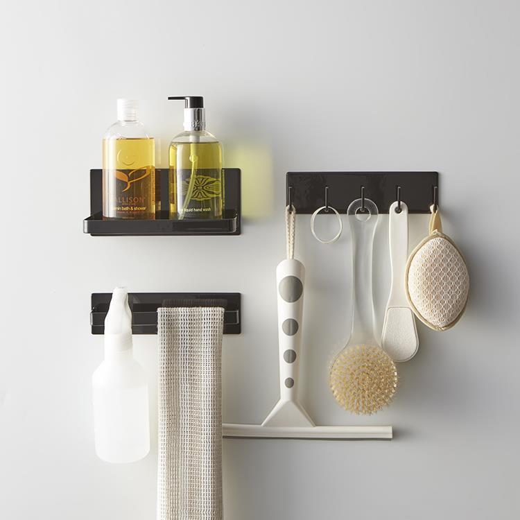 マグネット 浴室フックタワー  BK