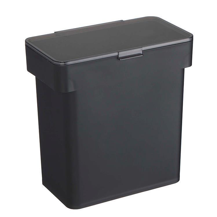 TOWER 密閉 袋ごと米びつ5kg カップ付 BK