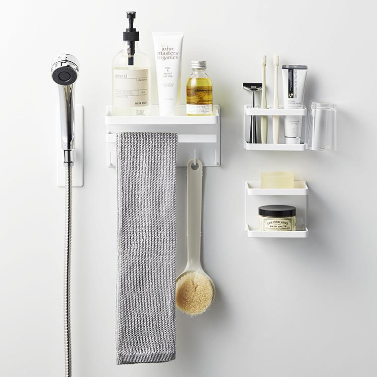 マグネット 浴室ソープトレー2段タワー  WH